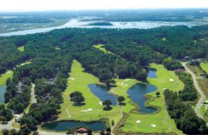 South Carolina Gated Communities | Dataw Island Aerial View