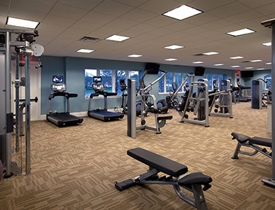 Minto at TwinEagles – Florida Coastal Communities - Fitness center and gym at TwinEagles in Naples, Florida