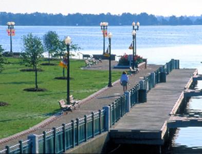 Waterfront at Carolina Colours in New Bern, North Carolina