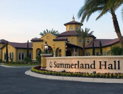 Sweetwater by Del Webb – Florida 55+ Communities - Summerland Hall clubhouse entrance at Sweetwater by Del Webb in Jacksonville, Florida