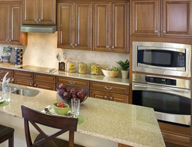 House interior kitchen at Del Webb Naples in Ave Maria, Florida