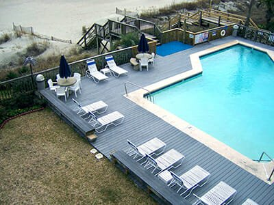 The Retreat at Ocean Isle Beach swimming pool at the beach