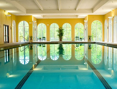 Sweetwater by Del Webb – Florida 55+ Communities - Interior swimming pool at Sweetwater by Del Webb in Jacksonville, Florida