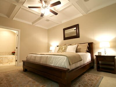 The Retreat at Ocean Isle Beach house interior bedroom