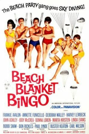 Beach Blanket Bingo poster art copyright American International