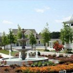 North Carolina Gated Communities | Carolina Colours Water Fountain