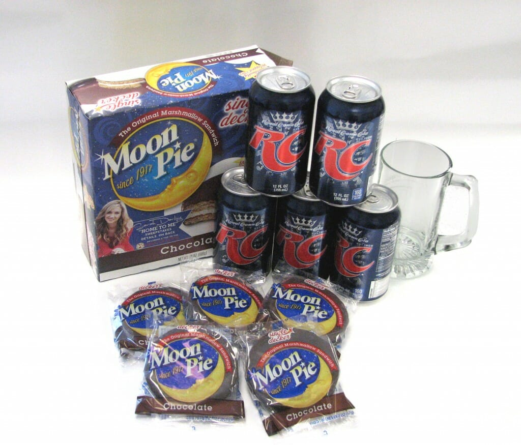 The delicious duo: RC Cola and MoonPie