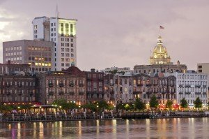 Savannah Georgia Waterfront | Best Retirement Cities