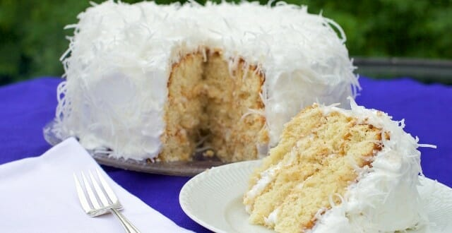 In The Kitchen: Homemade Coconut Cake