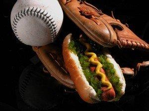 Baseball glove_Hotdog