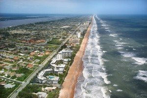 Arial View Ormond Beach, Florida