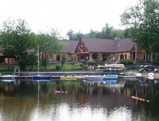 Eastman Community Association on the lake
