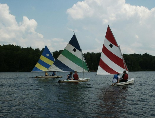 Eastman Community Association sailboating