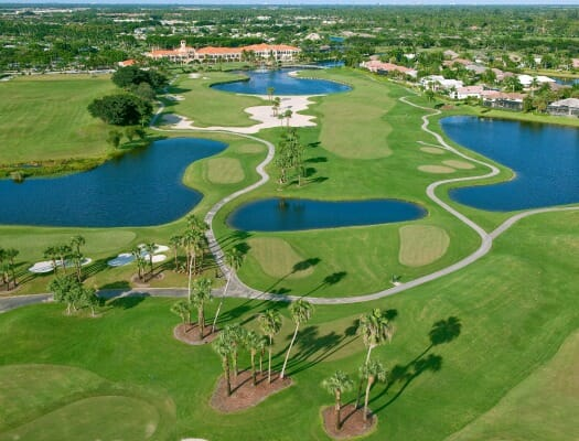 Wycliffe Golf & Country Club | Golf Course Aerial View