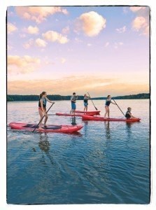 Paddleboarding on Lake Oconee, Reynolds Plantation, Greensboro, GA