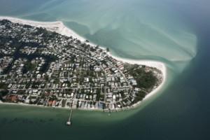 Anna Maria Island - aerial shot
