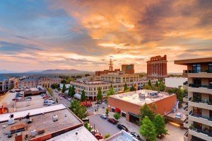 downtown Asheville NC a vibrant entertainment hub