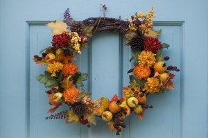 Holiday Prep - Thanksgiving - Autumn Wreath