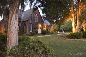 South Carolina Retirement Destinations - Baynard Park - Bluffton SC - Historic Church in Bluffton