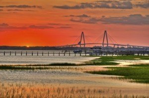 Charleston Sunset - South Carolina Retirement Communities - Carolina Walk at Towne Centre - Mt. Pleasant SC