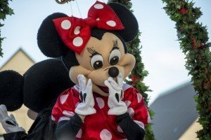 Disney World - Holiday at Disney - Minnie Mouse - Christmas Parade - Orlando Florida - Florida Retirement Communities - Del Webb Orlando