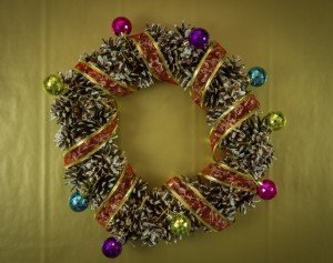 Pine Cone Wreath - Christmas Wreath - Christmas Decor