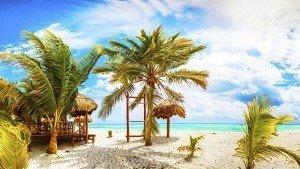 Tropical Resort. Mexico. Riviera Maya.