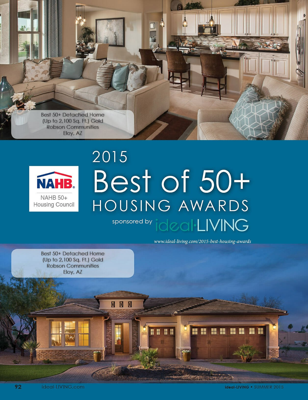 2015 best of 50+ housing awards NAHB