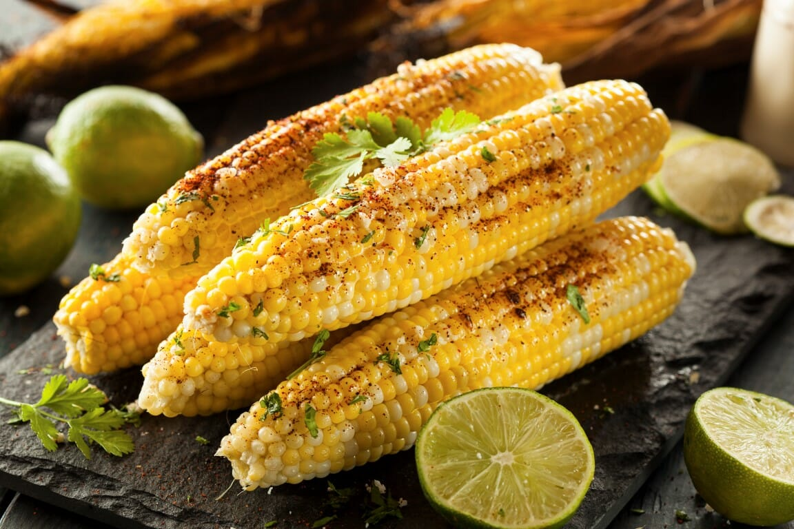 Countdown to Cinco de Mayo : Elote (Mexican Corn on the Cob)