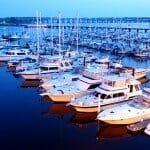North Carolina Gated Communities   Carolina Colours Boats Docked