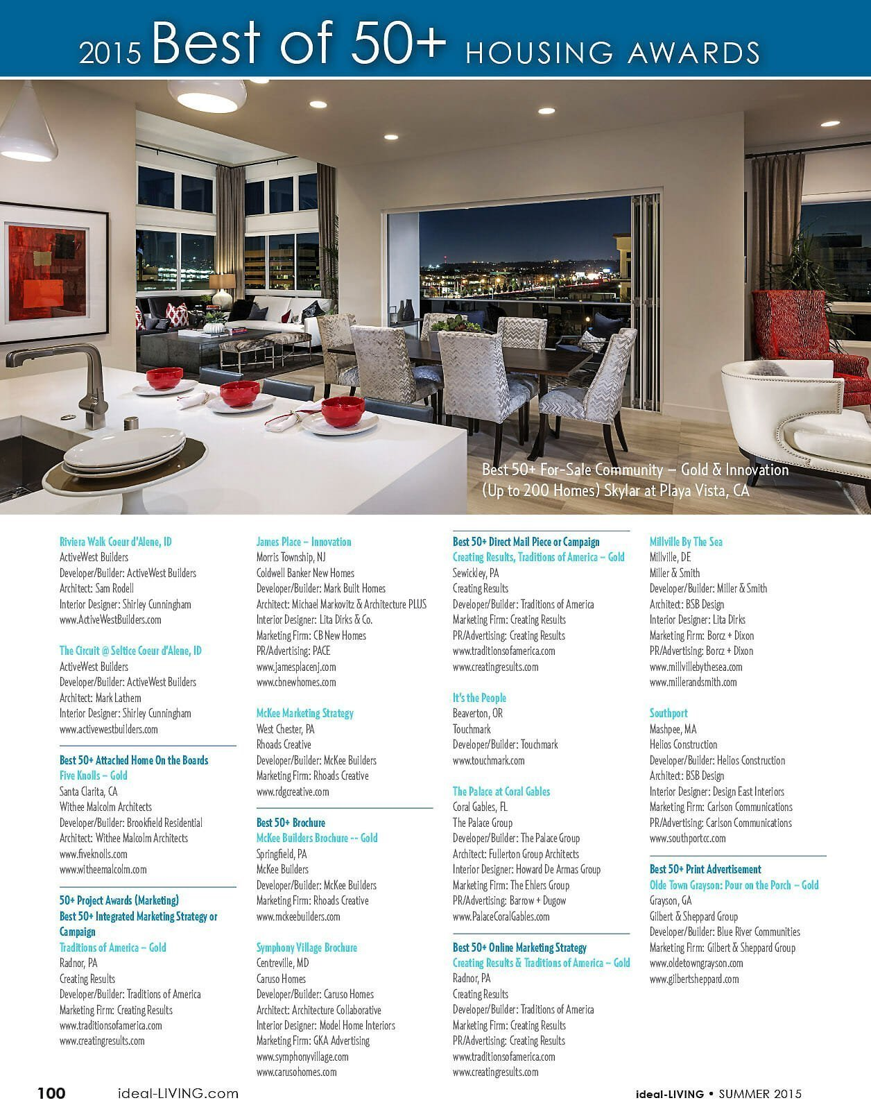 2015 Best of 50+ housing awards page 6
