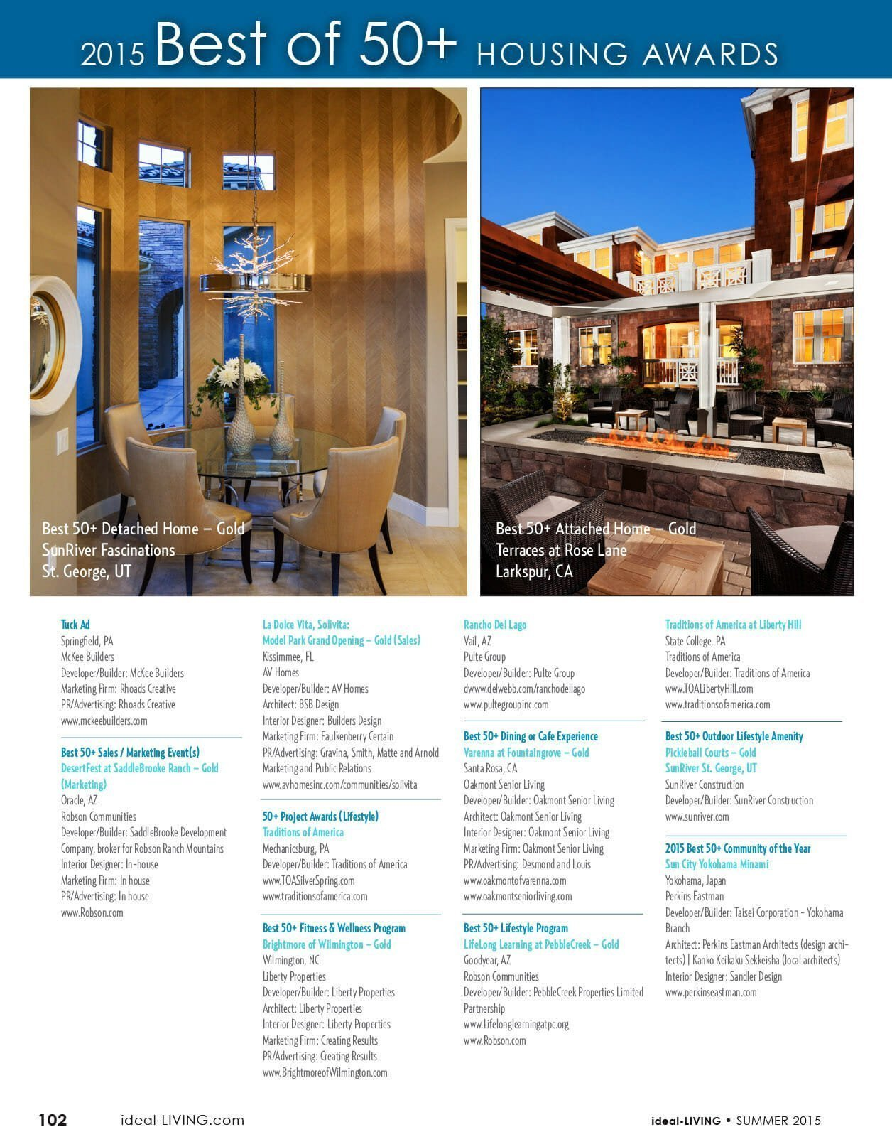 2015 Best of 50+ housing awards page 7
