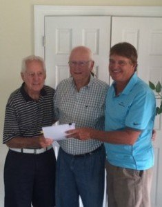 From left to right:  Tommy Jacobs, Bobby Harrelson, Rick Sears