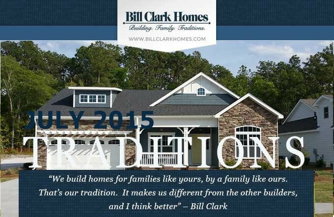Bill Clark Homes' July Newsletter