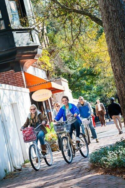 Family Bike Ride Historic District