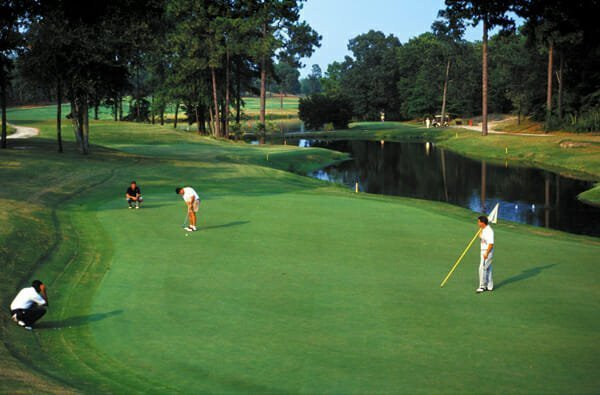 With eight course (three of them designed by Donald Ross), Pinehurst is America's golfiest resort.