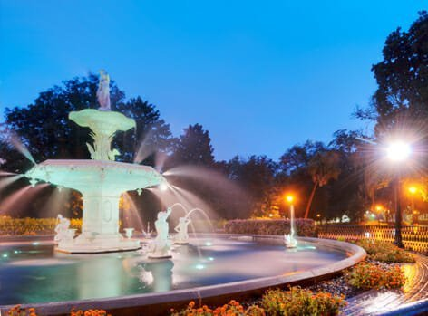 SavannahGA_fountain