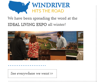 The Lakeside View Spring Newsletter For WindRiver