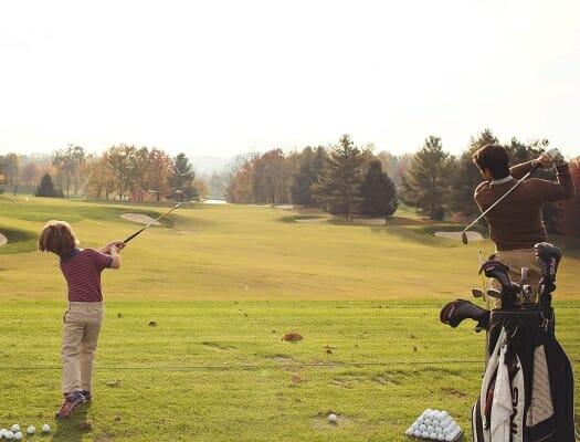 Virginian father son golf