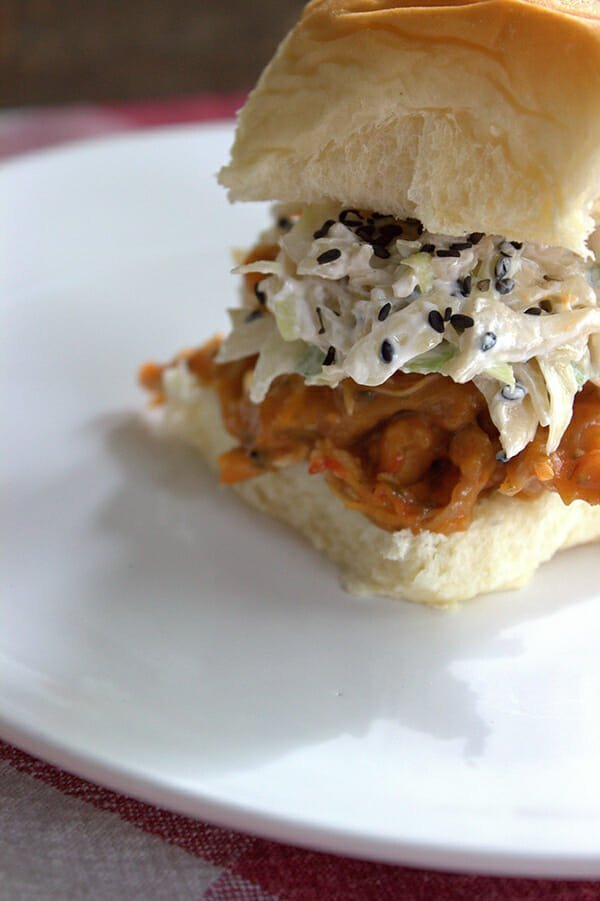 BBQ Sandwiches Recipe | Creamy Crunch Slaw Recipe | ideal-LIVING