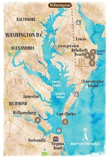 Rehoboth to Williamsburg Venture Out - ideal-LIVING Magazine