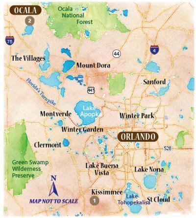 Ocala and Orlando Venture Out