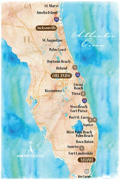 Florida's I-95 Corridor Venture Out