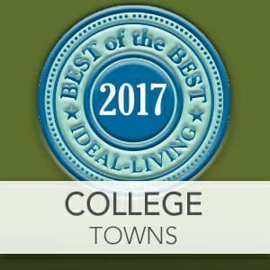 Best College Towns of 2017