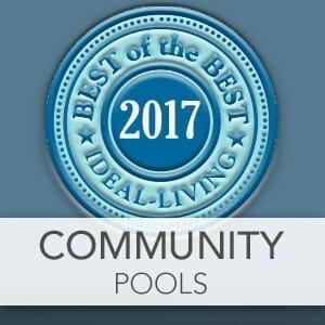 Best Community Pools of 2017