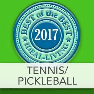 Best Tennis and Pickleball of 2017