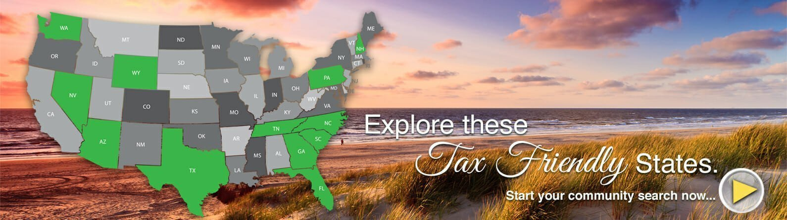 Explore These Tax Friendly States and Avoid the New Cap Deductions