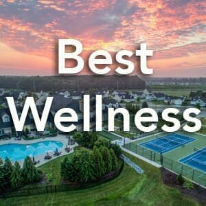 2018 Best Wellness Environments