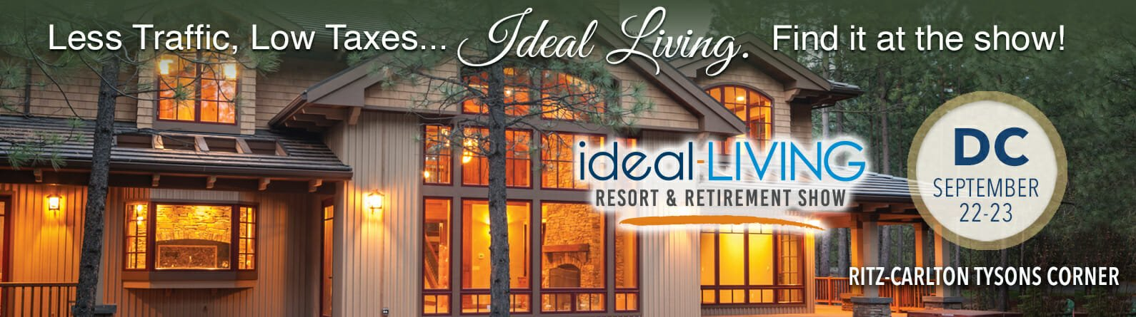 the ideal-LIVING Resort and Retirement Show in McClean, VA