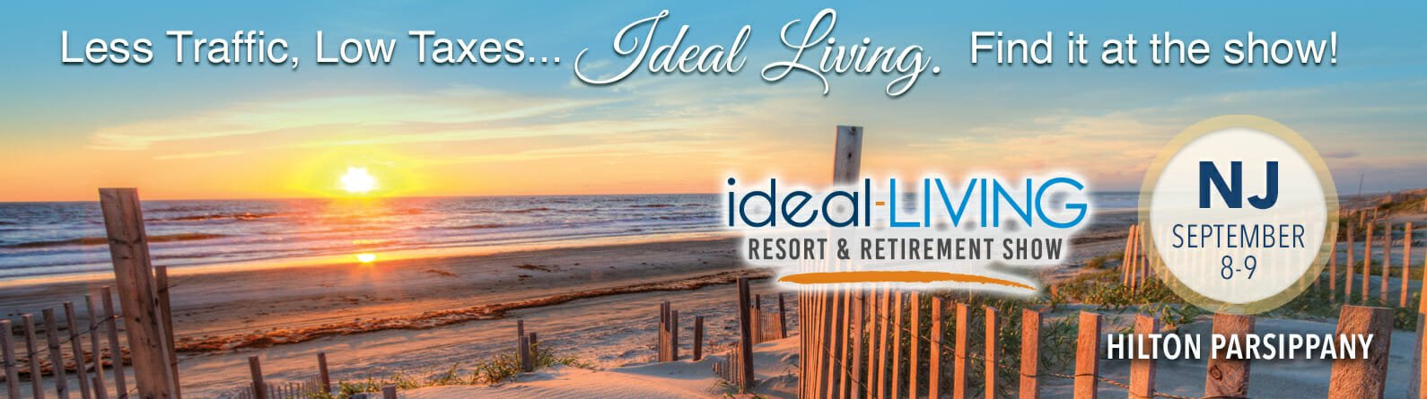 the ideal-LIVING Resort and Retirement Show in Parsippany, NJ